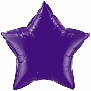 Воздушный шар Звезда Фиолетовый.
