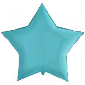 Воздушный шар Большая Звезда Голубая.