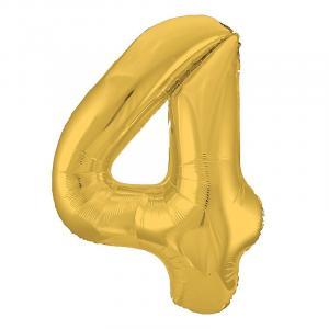 Воздушный шар c гелием Цифра zoloto.