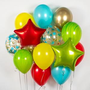 Сет из воздушных шаров Мармелад.