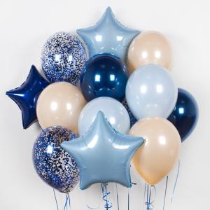 Букет из воздушных шаров Starr sky.