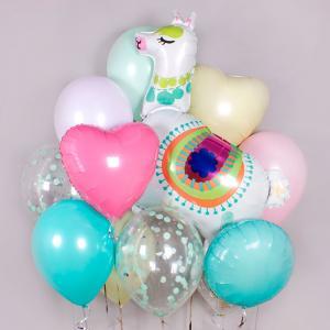 Букет из воздушных шаров Необыкновенная Лама.