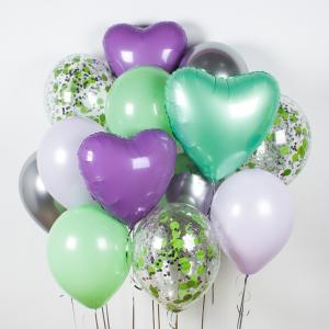 Букет из воздушных шаров Лила Вандер.