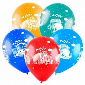 Воздушные шары Мультяшные машинки.