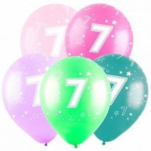 Воздушные шары Цифра.